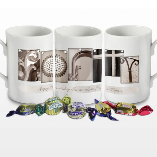 Personalised Affection Art Forty Mug